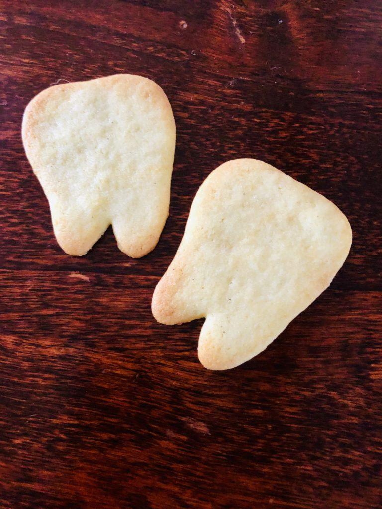 Butterkekse Idee Zahnform