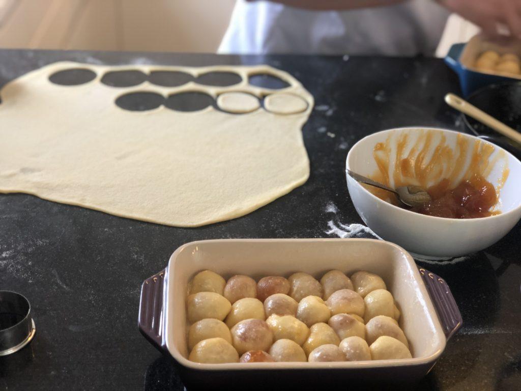 Buchteln Zubereitung klein